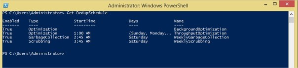 Administrator Windows PowerShell